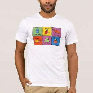 キャラクターの箱 Tシャツ