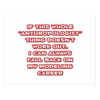 キャリアを模倣する人類学者のユーモア… ポストカード