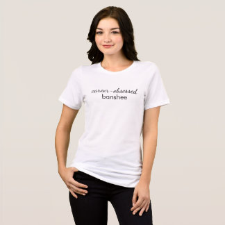 キャリア取りつかれていたバンシー Tシャツ