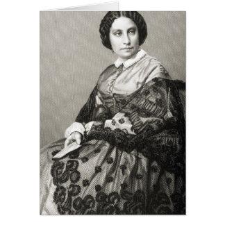 キャロラインMarie Felix Miolan-Carvalho夫人 カード