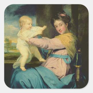 キャロラインMarlboroughの公爵夫人の、ポートレートとの スクエアシール