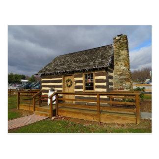 キャロル郡の農場博物館の小屋 ポストカード
