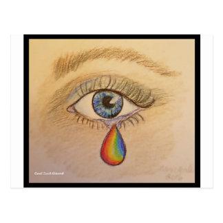キャロルZeock著オーランドの虹の涙 ポストカード