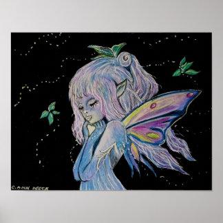 キャロルZeock著夜警員の妖精 ポスター