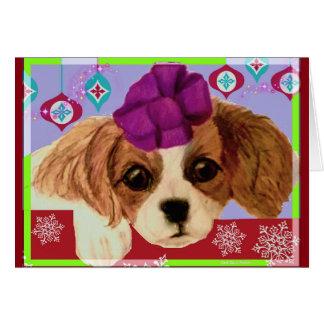 """キャロルZeock著""""最も素晴らしいギフト""""のクリスマスカード カード"""
