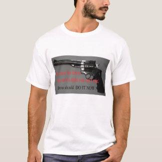 キャンセルするその決して余りに遅い Tシャツ
