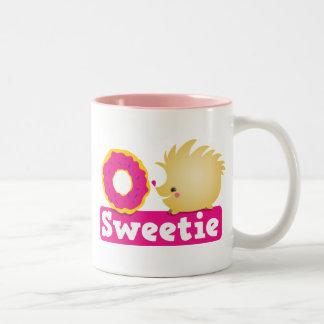 キャンディのハリネズミ ツートーンマグカップ