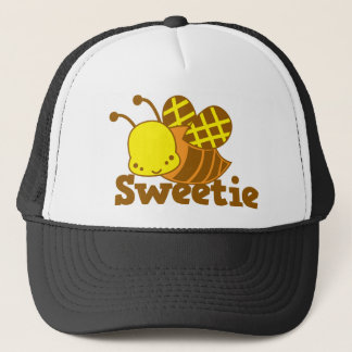 キャンディの蜂蜜の蜂のかわいいのかわいこちゃんのデザイン キャップ
