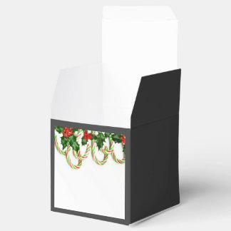 キャンディ・ケーンが付いているChristmanの装飾 フェイバーボックス