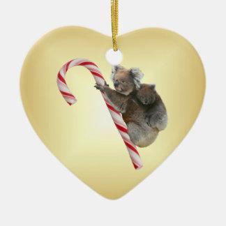 キャンディ・ケーンのオーストラリアのクリスマスのコアラ セラミックオーナメント