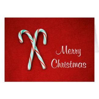 キャンディ・ケーンのクリスマスカード カード