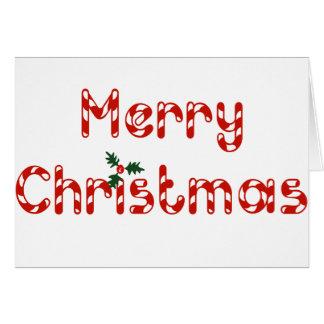 キャンディ・ケーンのクリスマス カード