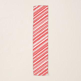 キャンディ・ケーンのペパーミント4Lucas スカーフ
