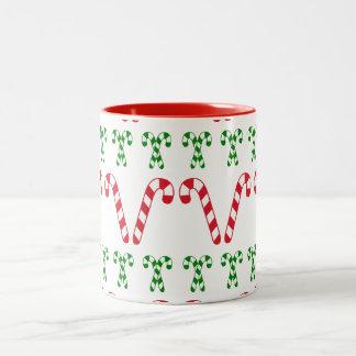 キャンディ・ケーンのマグ ツートーンマグカップ