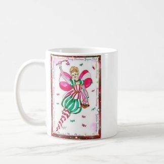キャンディ・ケーンの妖精のマグ コーヒーマグカップ
