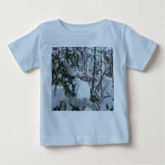 キャンディ・ケーンの屋外のクリスマスの装飾 ベビーTシャツ