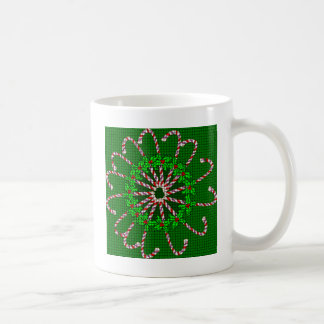 キャンディ・ケーンの織り方 コーヒーマグカップ