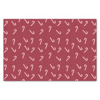 キャンディ・ケーンの赤のティッシュペーパー 薄葉紙