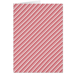 キャンディ・ケーンは縞で飾ります カード