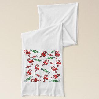 キャンディ・ケーン及びペパーミントの休日のスカーフ スカーフ