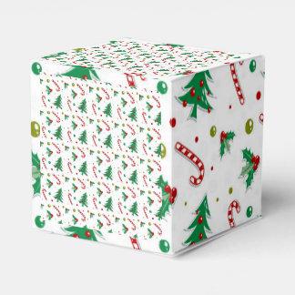 キャンディ・ケーン、ヤドリギおよびクリスマスツリー フェイバーボックス