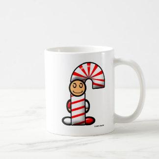 キャンディ・ケーン(明白な) コーヒーマグカップ
