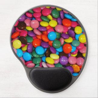 キャンデーによって包装されるchoclateは質のテンプレートにボタンをかけます ジェルマウスパッド