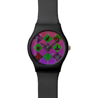 キャンデーのためのUの一突きの勾配かハロウィンのトリック・オア・トリート 腕時計