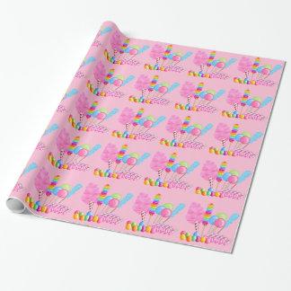キャンデーのサーカスの包装紙 ラッピングペーパー