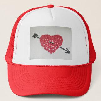 キャンデーのハートの帽子 キャップ