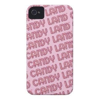 キャンデーの土地のロゴ Case-Mate iPhone 4 ケース