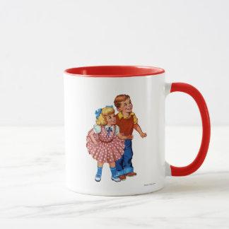 キャンデーの土地の子供 マグカップ