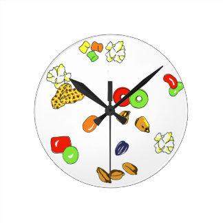 キャンデーの時計 ラウンド壁時計