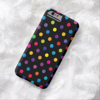 キャンデーの水玉模様パターンiPhone6ケース Barely There iPhone 6 ケース