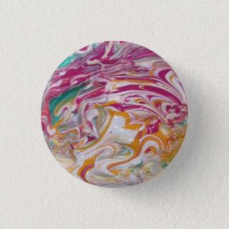 キャンデーの渦巻ボタン 3.2CM 丸型バッジ
