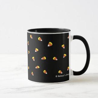 キャンデーのCorns (黒) マグカップ