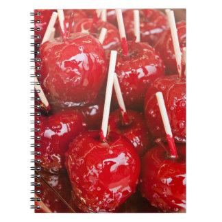 キャンデーはシュトゥットガルトビールFestivaでフルーツに塗りました ノートブック