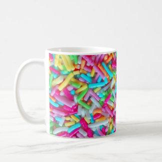 キャンデーはパターンマグを振りかけます コーヒーマグカップ