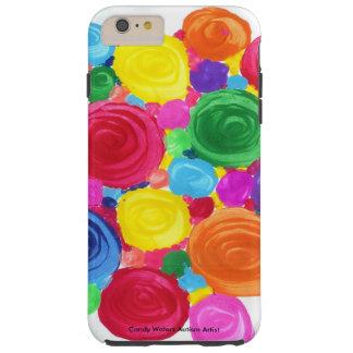 キャンデーは自閉症の芸術家に水をまきます TOUGH iPhone 6 PLUS ケース