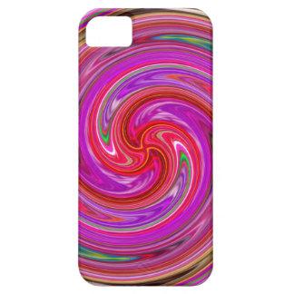 キャンデーは螺線形の電話箱を着色します iPhone SE/5/5s ケース