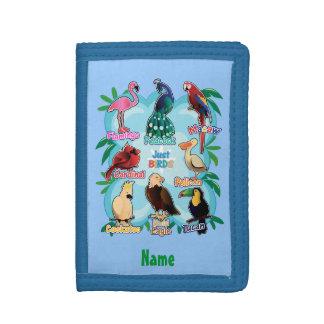 キャンデーを学ぶことによる名前入りでかわいい鳥
