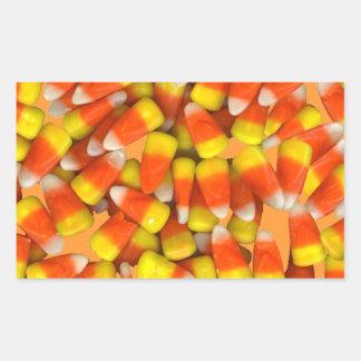 キャンデートウモロコシのステッカー 長方形シール