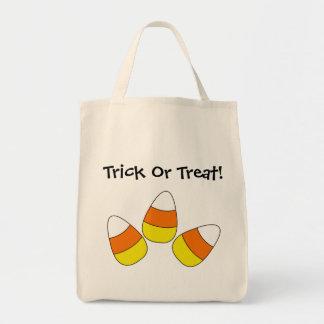 キャンデートウモロコシのトリック・オア・トリートのバッグ トートバッグ