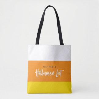 キャンデートウモロコシのハロウィンの甘い戦利品 トートバッグ