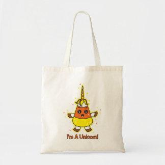 キャンデートウモロコシのユニコーン トートバッグ