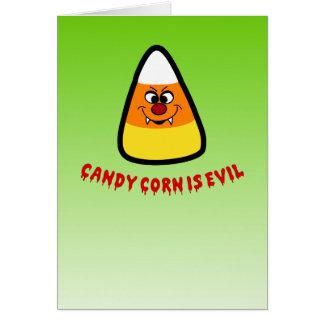 キャンデートウモロコシは邪悪です カード