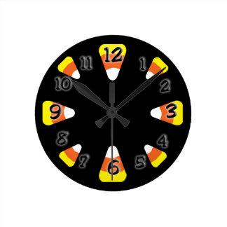 キャンデートウモロコシ ラウンド壁時計
