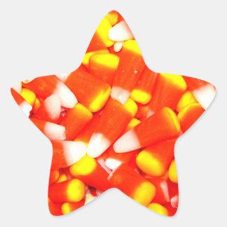 キャンデートウモロコシ 星シール