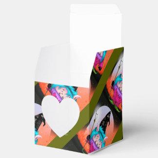 キャンデーペット1外国のギフト用の箱のハートのハロウィンモンスター フェイバーボックス