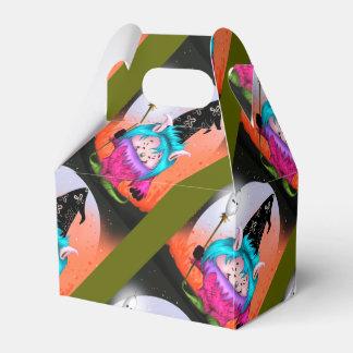 キャンデーペット1外国のギフト用の箱の切り妻のハロウィンモンスター フェイバーボックス